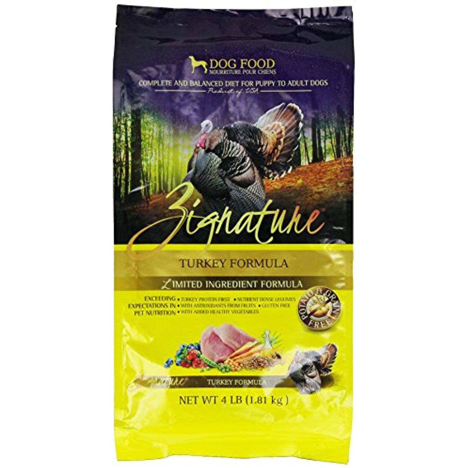 Zignature Turkey Dry Dog Food 4 Pound To Check This Awesome