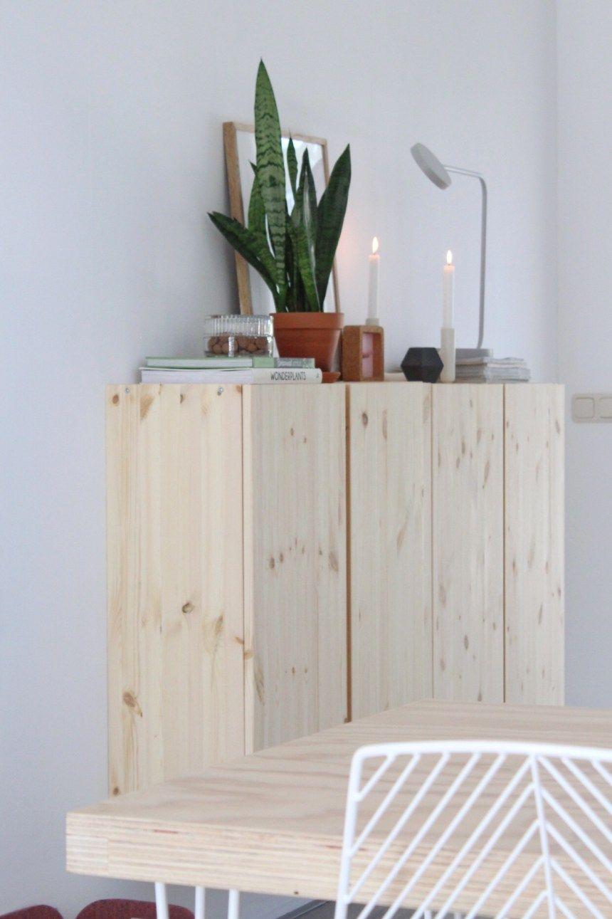 Plank Plat Tegen Muur Bevestigen.Inspiratie Van De Ivar Kast Van De Ikea In Mijn Interieur En Huis