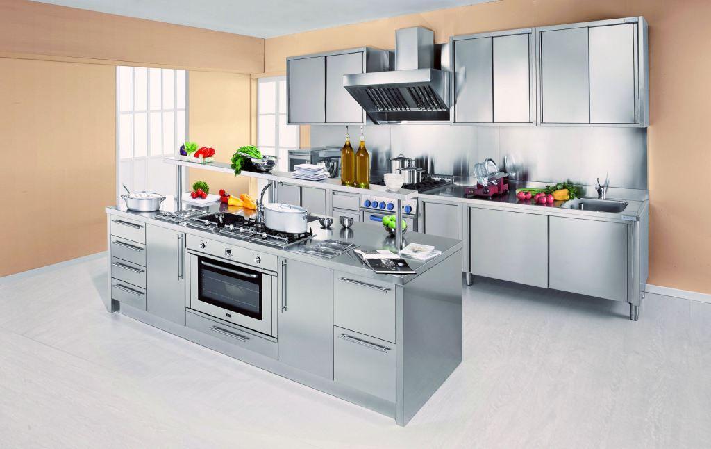 Arca cucine italia cucine domestiche acciaio inox - Chef cucine catanzaro ...
