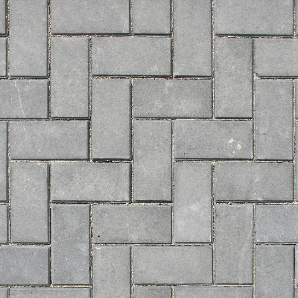 Grey stones in an alternating horizontal and vertical brick wall pattern. | Intertravado, Piso ...