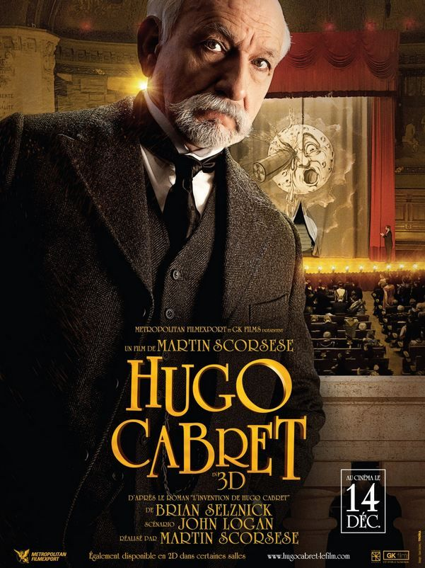 Watch Four Minutes From Martin Scorsese S Hugo Five Posters And Q A With James Cameron Martin Scorsese Filmes Lixeira Carro