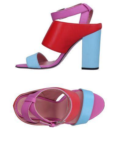TIPE E TACCHI Women's Sandals Red 11 US