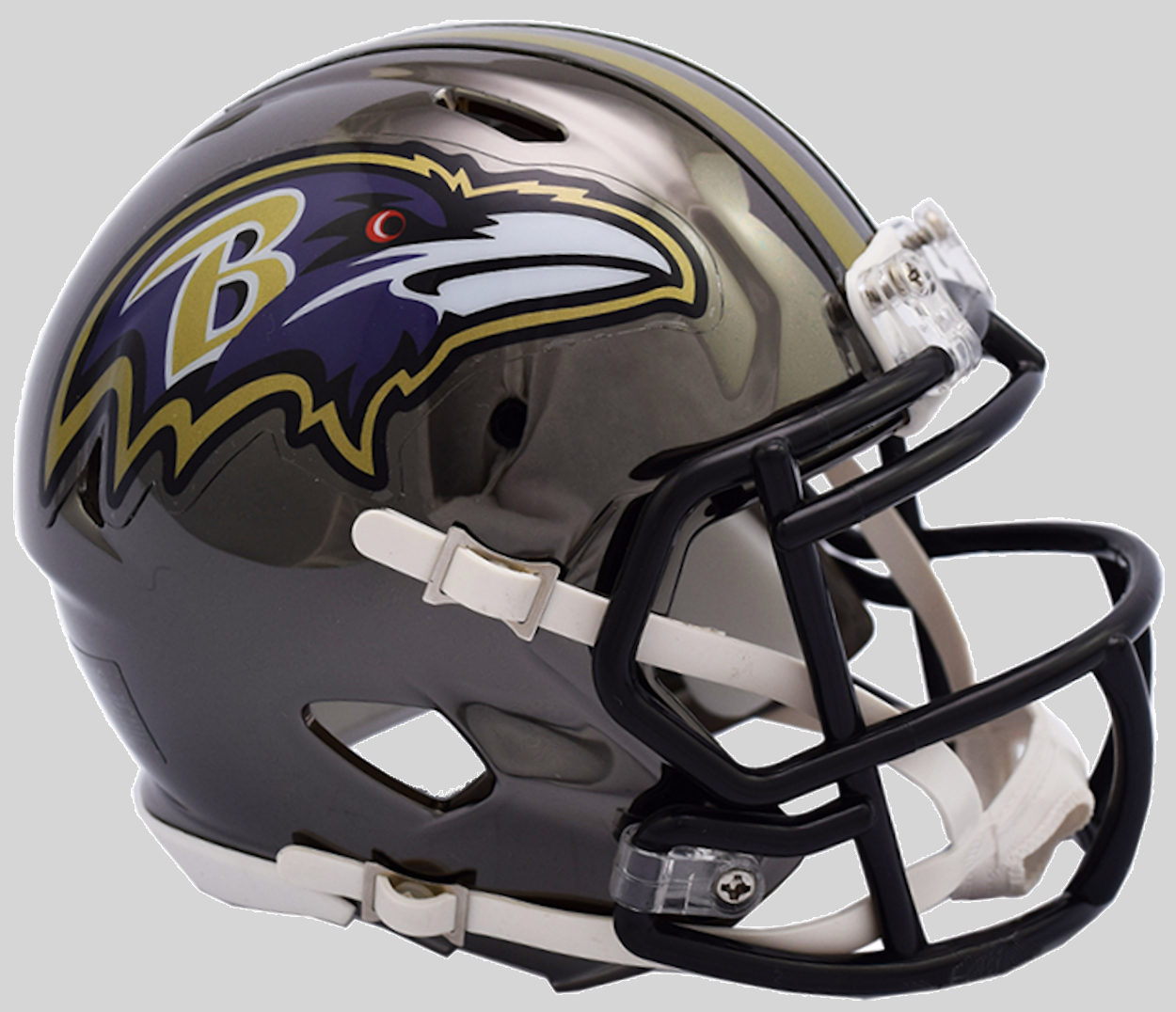 cec486d98 Baltimore Ravens Authentic Full Size Chrome Speed Helmet - 2018 ...