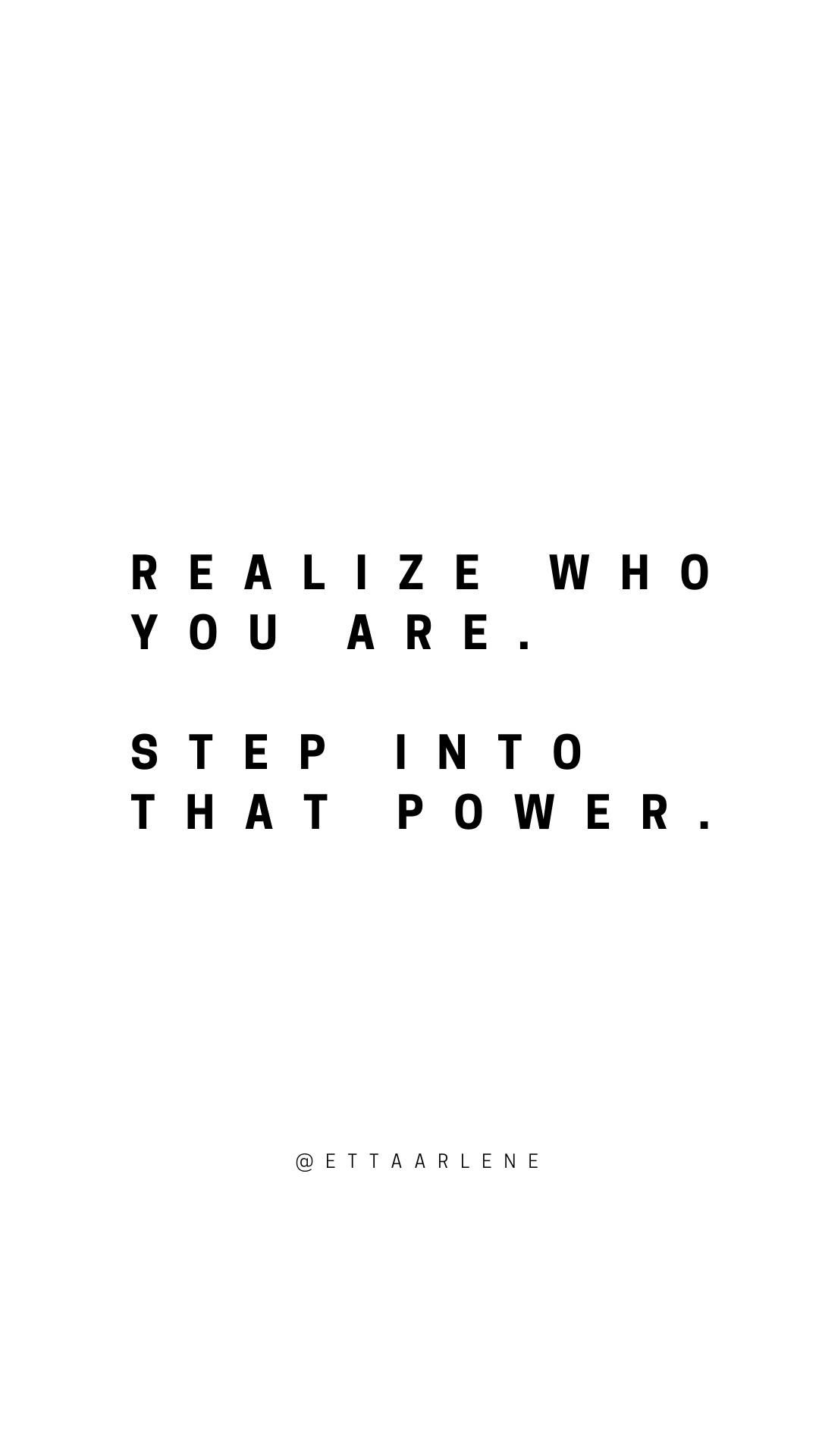 Remember Who You Are inspirational quote