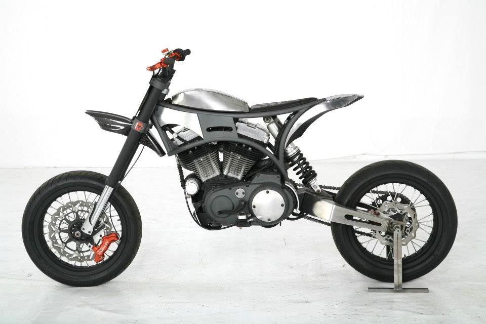 Mindy By Tpj Customs Supermoto Buell Motorcycles Bike