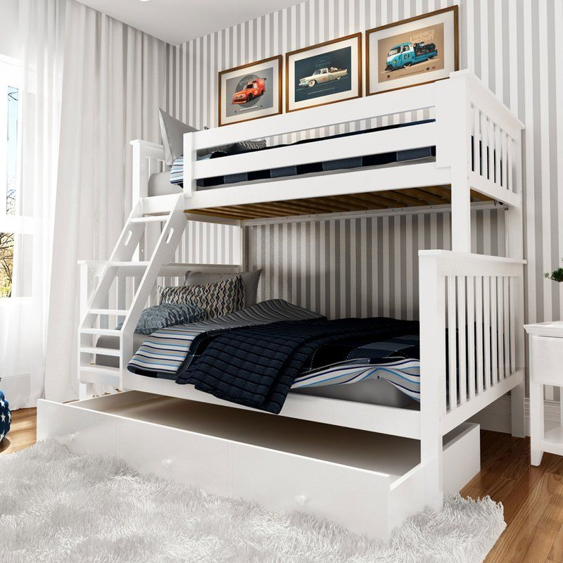 Schofield Platform Bed with Trundle Bunk bed with