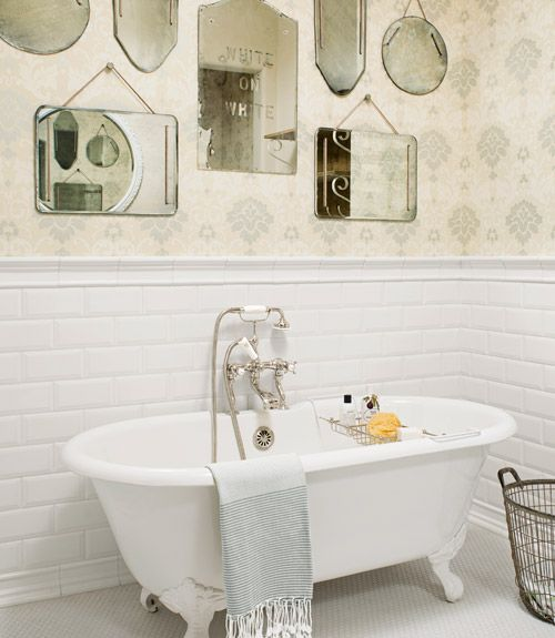Bathroom mirrors Bath And Sink Pinterest Salle de bains