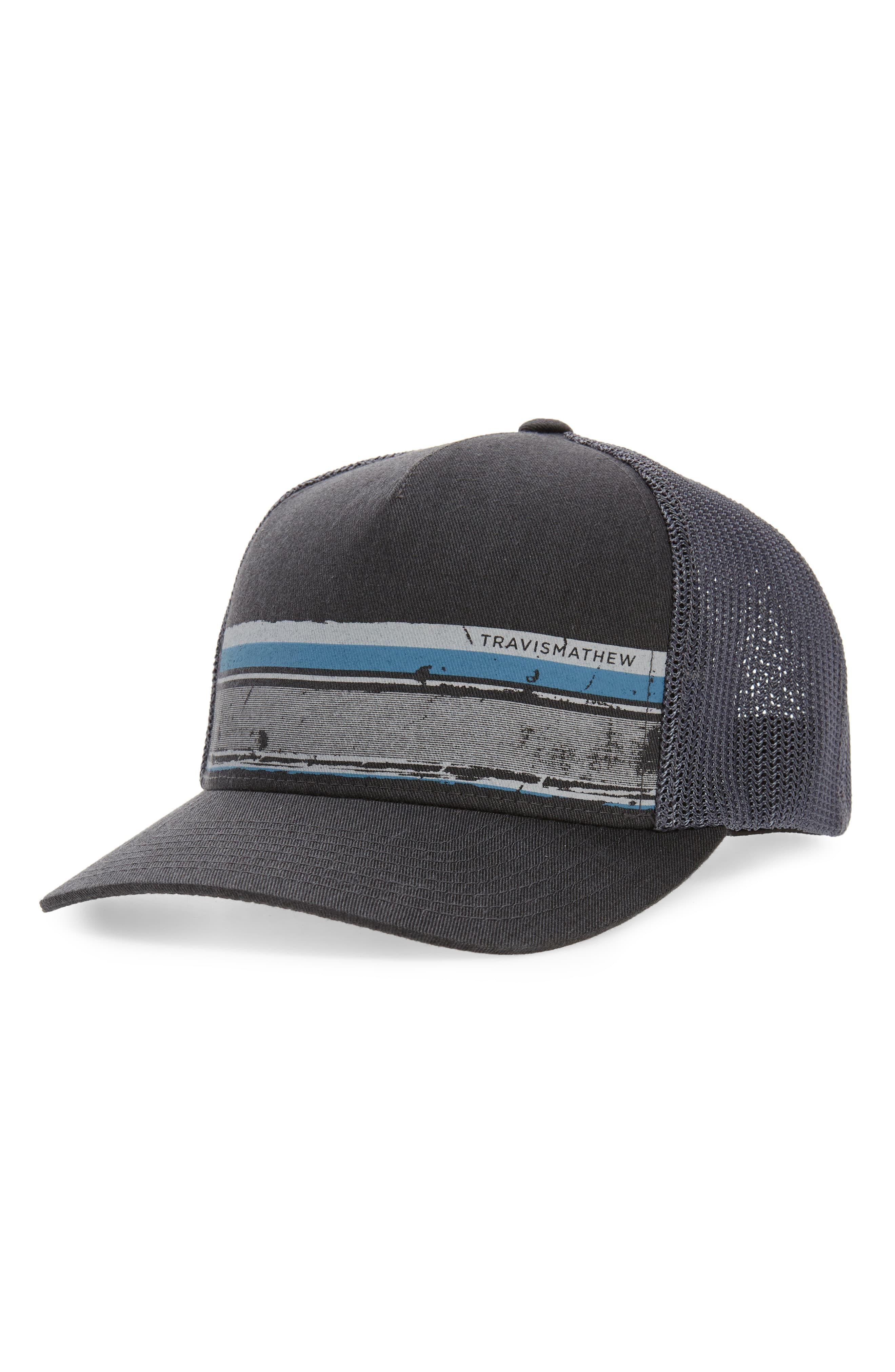 c609cb515 Men's Travismathew Painter Trucker Hat, Size Large/X-Large - Grey in ...
