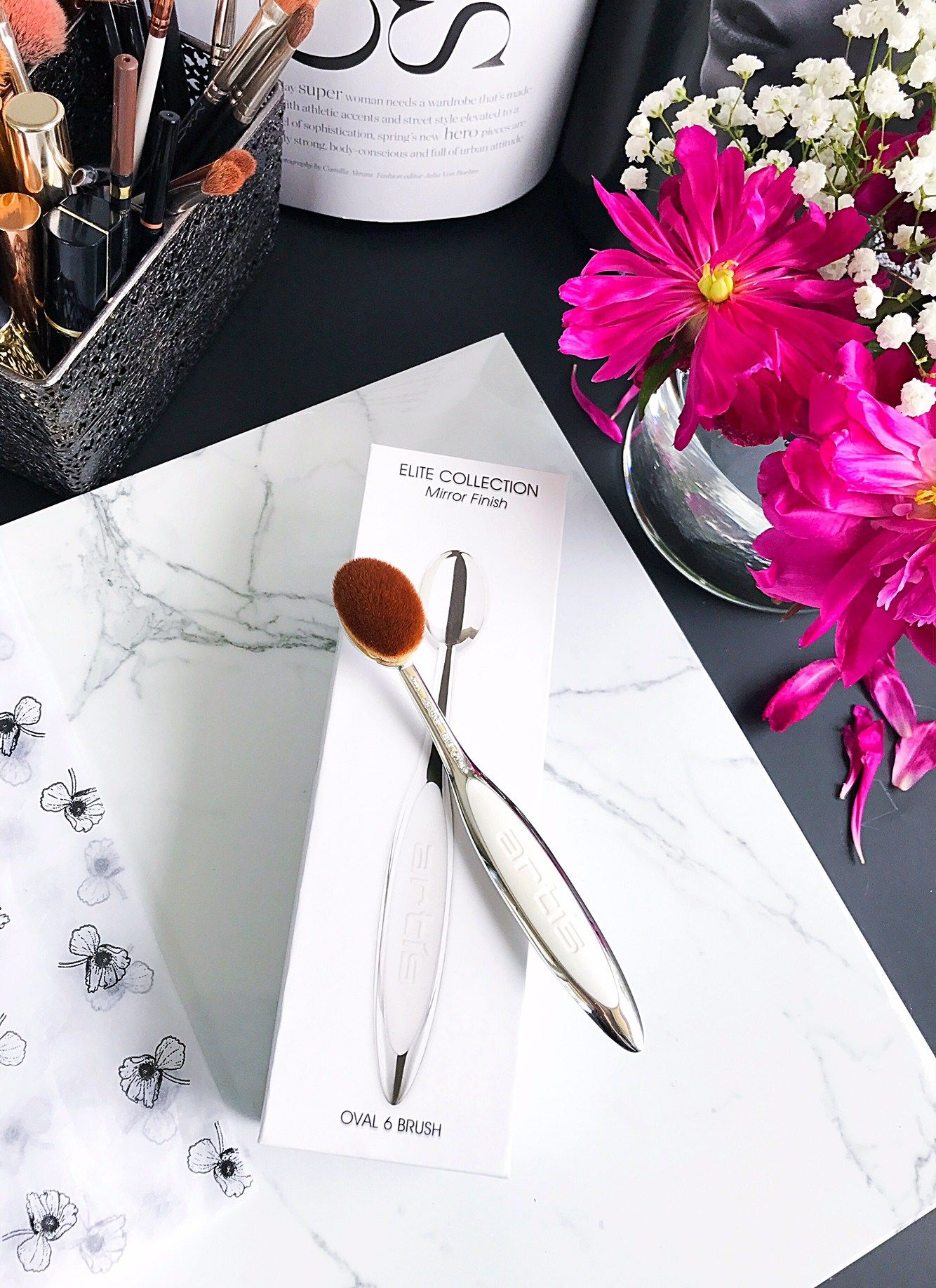 Trend Alert Artis Oval Makeup Brushes Cat's Daily