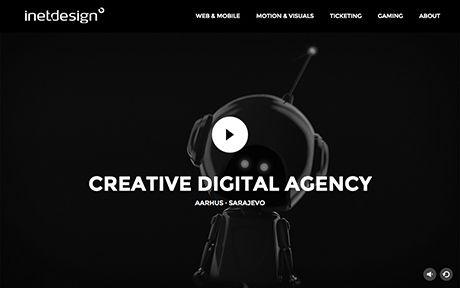 Inet Design Css Awards Great Website Design Creative Websites Website Design