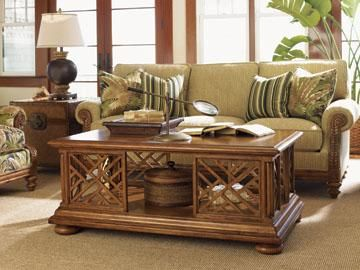 The Tommy Bahama Island Estate collection is part of the Tommy Bahama group by Lexington Furniture.