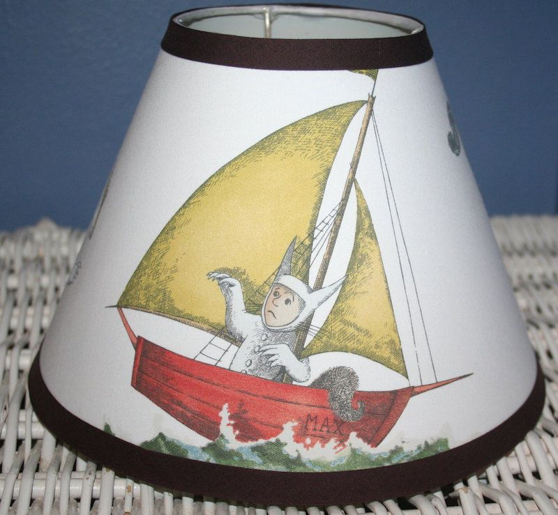 Lampshade Made W Pottery Barn Kids Where The Wild Things