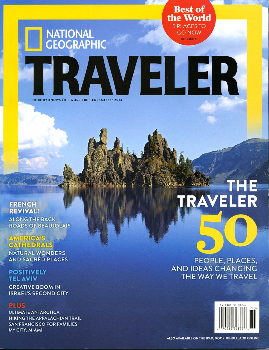 Best Trips 2015 National Geographic Traveler: Susan Seubert On National Geographic Traveler's Cover For