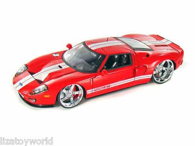 Ford Gt Jada   Scale Red