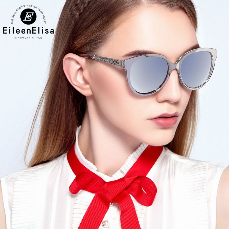 b58f95c9037 AOFLY Sunglasses Cat Eye Ladies Sunglasses 2017 Luxury Classic Women  Fashion Shades Brand Designer Alloy Legs Points AF7964   Price   12.00    FREE …