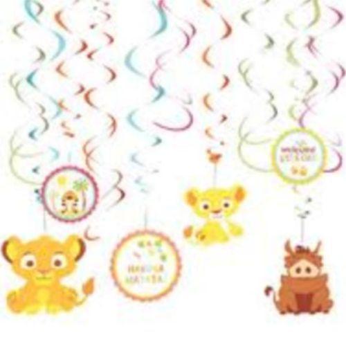 lion king swirls  birthday baby shower party supplies australia, Baby shower invitation
