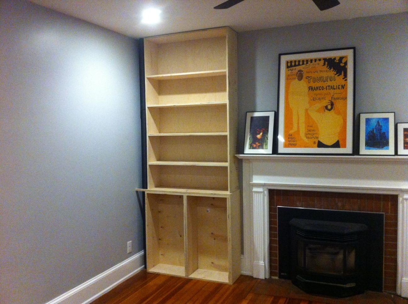 Pin by jeff builds stuff on fireplace bookcases pinterest