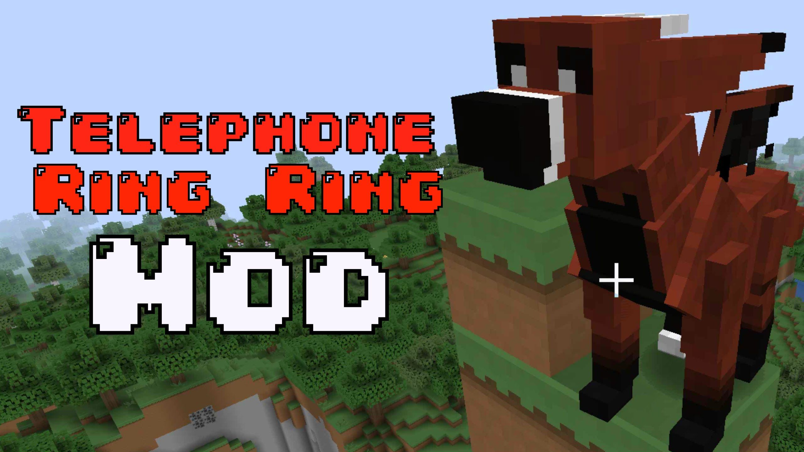 Telephone in Minecraft? (Ft.Telephone Ring Ring) How to