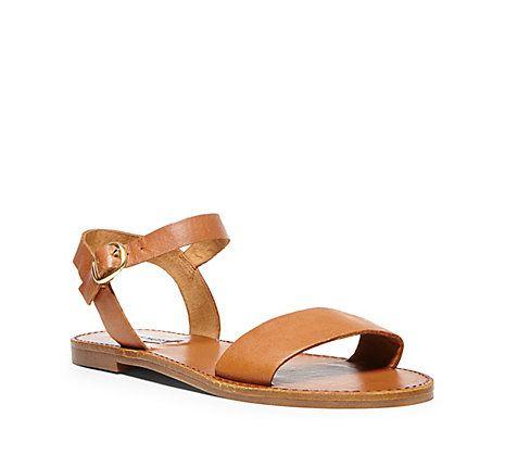 bdbb0a02adb Silver   Black Flat Leather Sandals