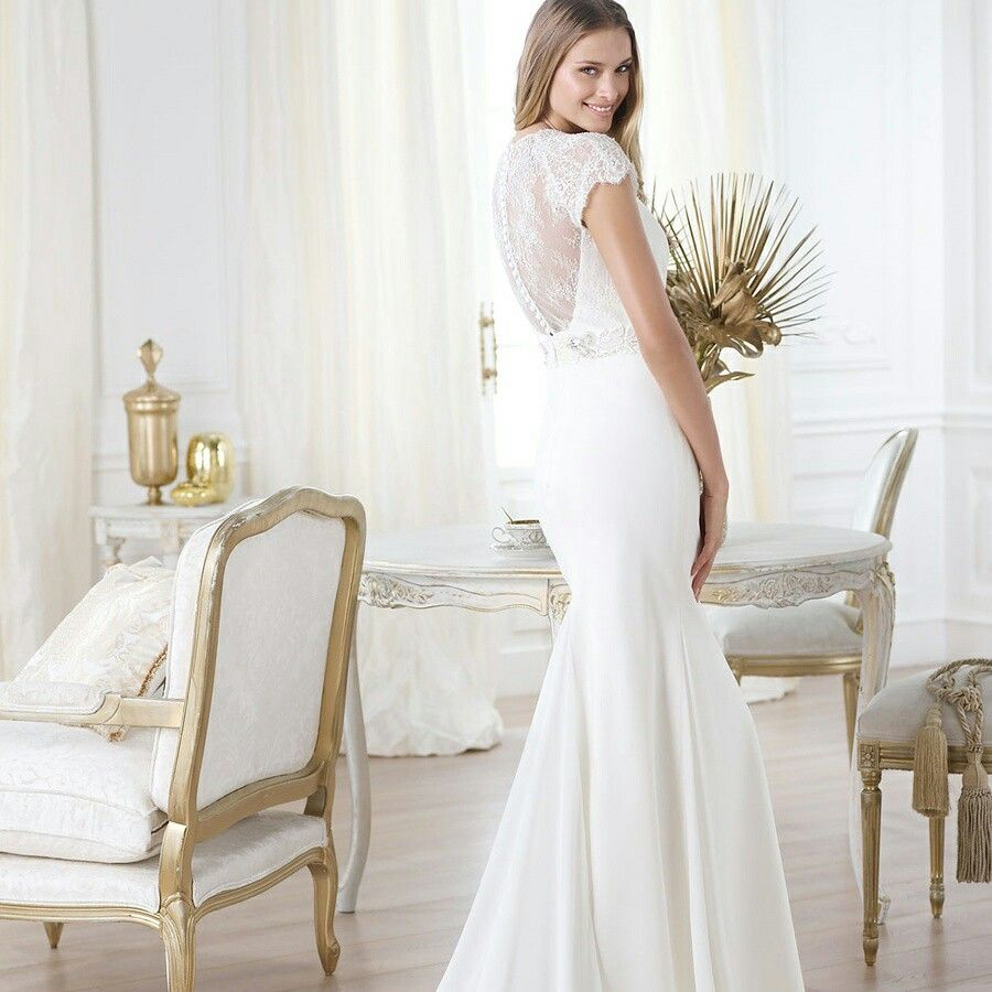 Elegant Short Sleeves Plunging V-neck Mermaid Illusion Back Wedding Dress Featuring Crystal http://www.luckyweddinggown.com/elegant-short-sleeves-plunging-vneck-mermaid-illusion-back-wedding-dress-featuring-crystal-p-1218.html  #wedding #dresses #party #Luckyweddinggown #Luckywedding #design #style #weddingdresses #bridaldresses #love #me #cute #beautiful #girl #shopping #lovely #clothes #instagood #follow #fashion