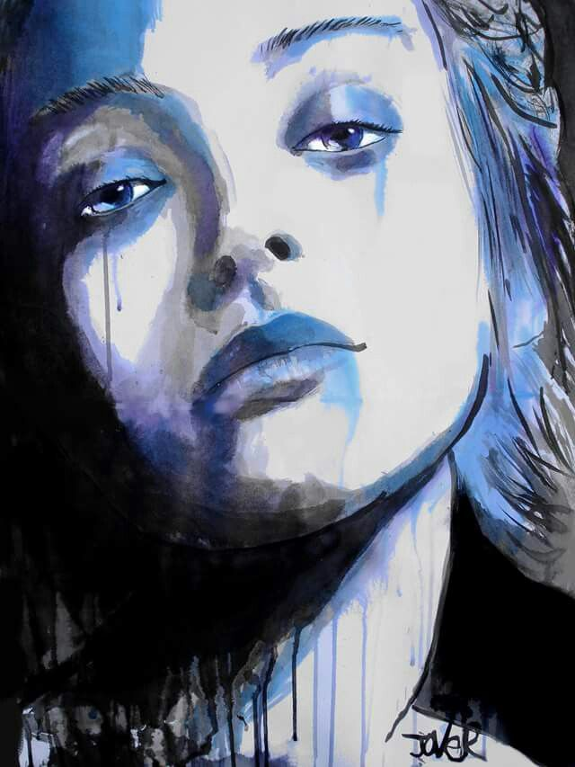Blue Moments By Loui Jover