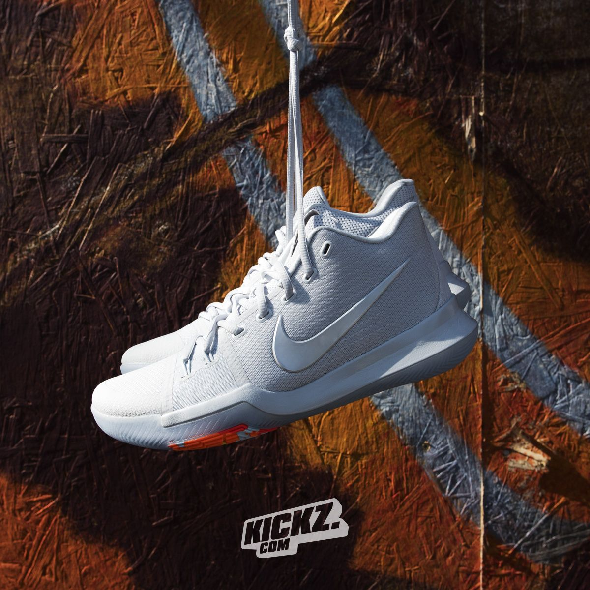 detailed look f3da4 d7622 Nike Kyrie 3 TS. What a beauty and clean af. Get it at KICKZ ...
