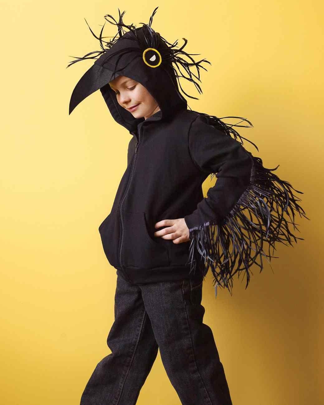 Raven Costume | Crow costume, Halloween raven and Halloween diy