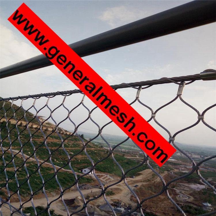 Inox X Tend Wire Rope Mesh For Garden Trellis Plants
