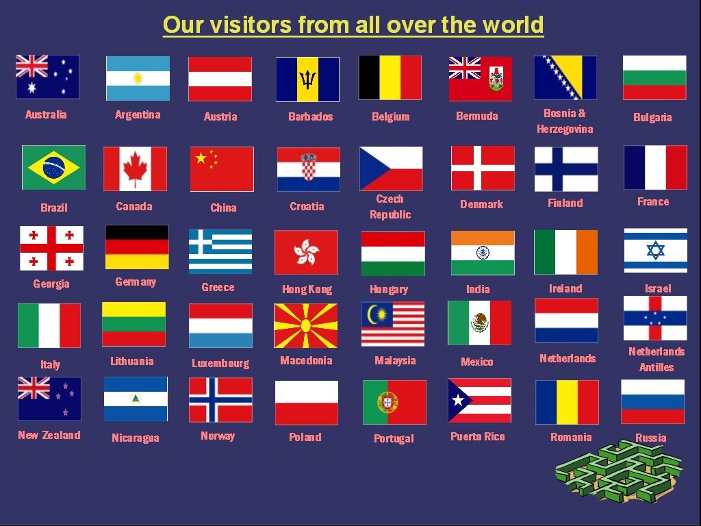 Use the form below to report this All Country Flags With Names In ...