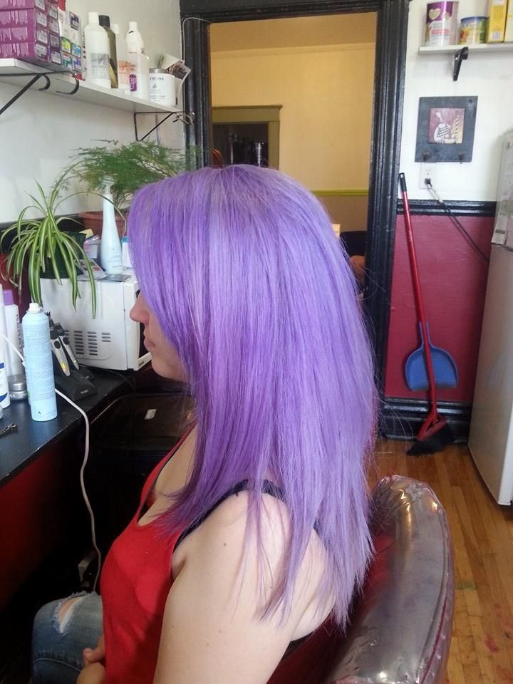 Pravana Pastel Lilac Nails Done Hair Done Pinterest Pravana