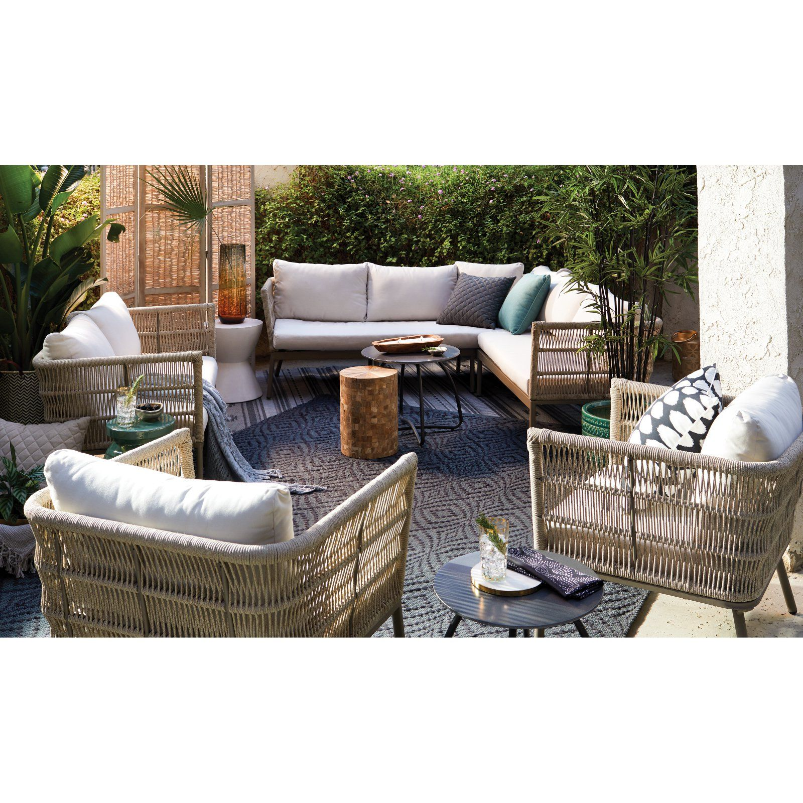 Outstanding Patio Garden Patio Design In 2019 Sofa Set Outdoor Pabps2019 Chair Design Images Pabps2019Com