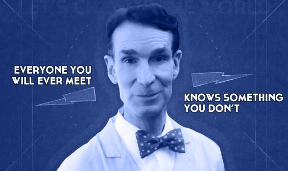 6 quotes of wisdom and hilarity from everyone's favorite: Bill Nye the Science Guy.  http://ht.ly/fy6Wp