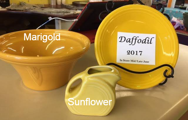 adafe792a6c4 Comparing Fiesta® Daffodil to Marigold and Sunflower