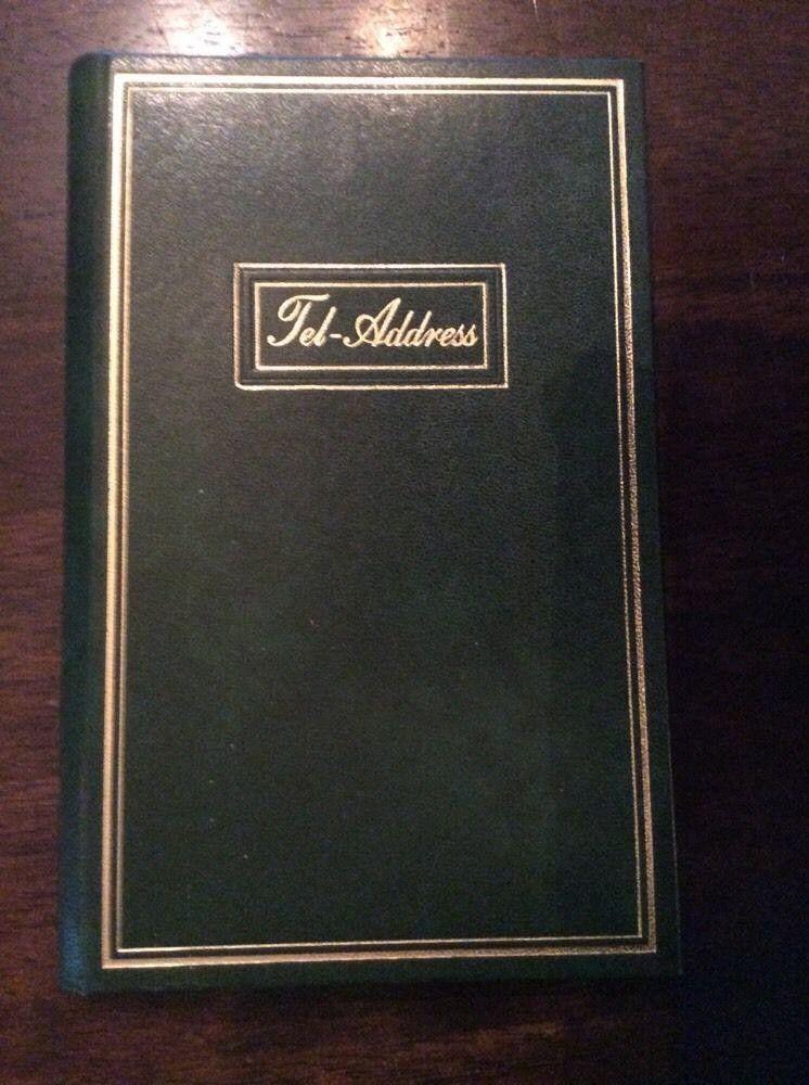 14 2015 vintage green sheaffer eaton address book unused tabbed