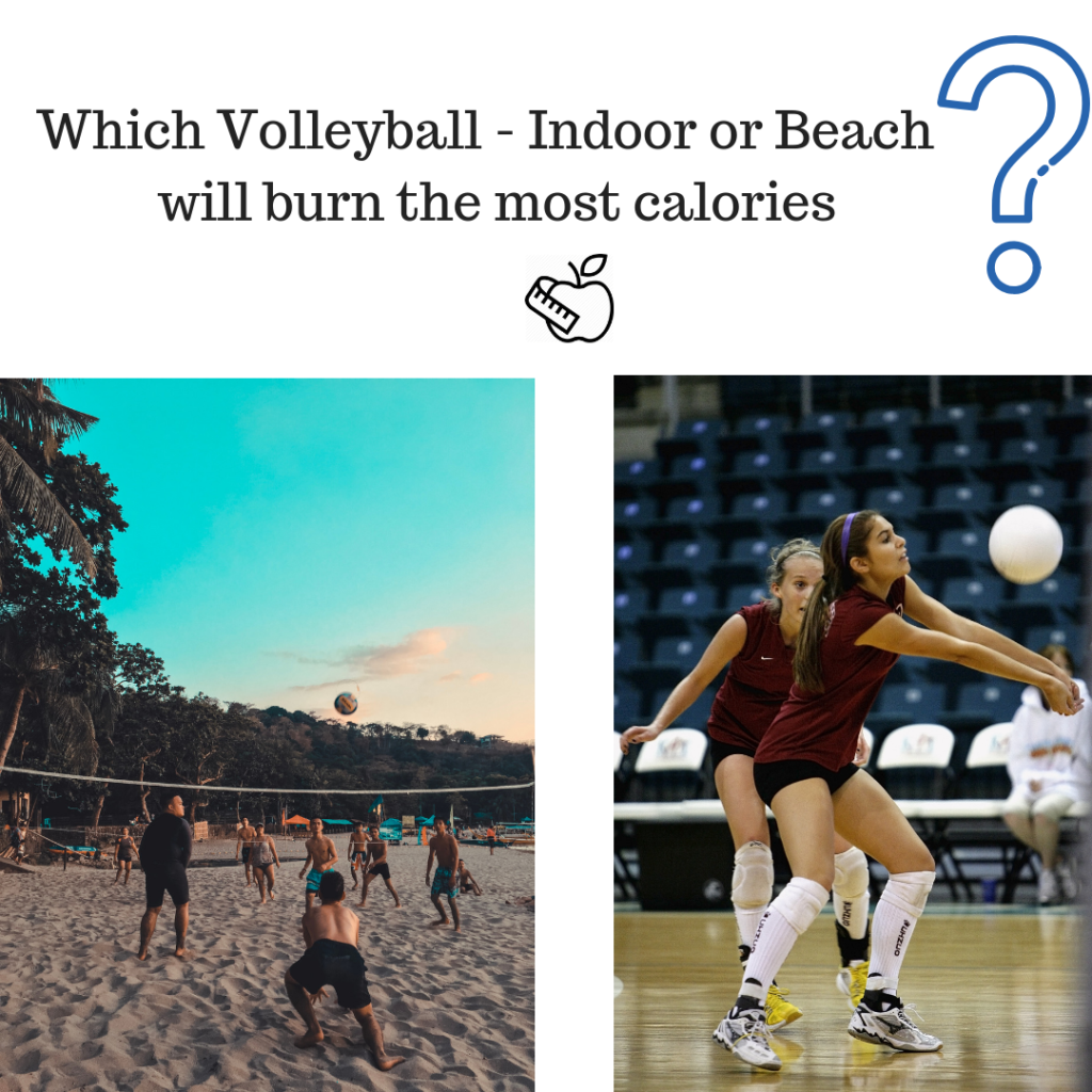 Is It True That Sand Volleyball Burns More Calories Than Indoor Volleyball Indoor Volleyball Volleyball Volleyball Memes