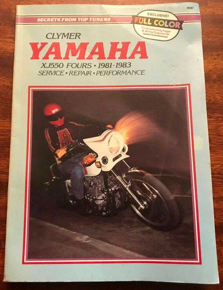 Yamaha Xj550 Fours 1981 1983 Service Repair Performance By Ron Yamaha Clymer Repair
