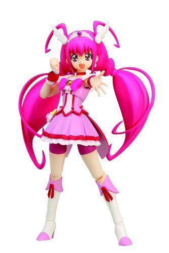 CURE HAPPY Action Figure BANDAI TAMASHII NATIONS S.H.Figuarts Smile Precure