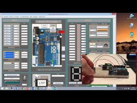 How to use a real potentiometer on the Arduino Simulator 1 4