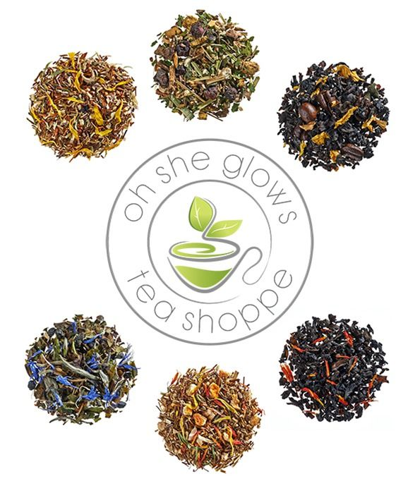 Introducing The Oh She Glows Tea Shoppe — featuring organic, premium loose leaf tea blends! In our tea shoppe, you'll find energizing morning blends, after dinner dessert teas, teas for wellness, and teas that you simply cannot imagine living without. Visit us at www.teashoppe.ohsheglows.com