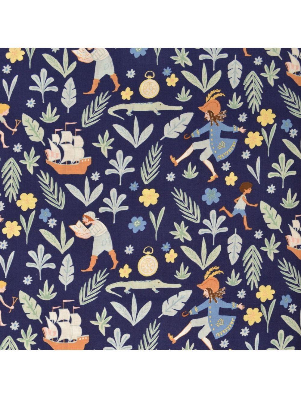 Awfully Big Adventure Nite Michael Miller Fabric Wallpaper