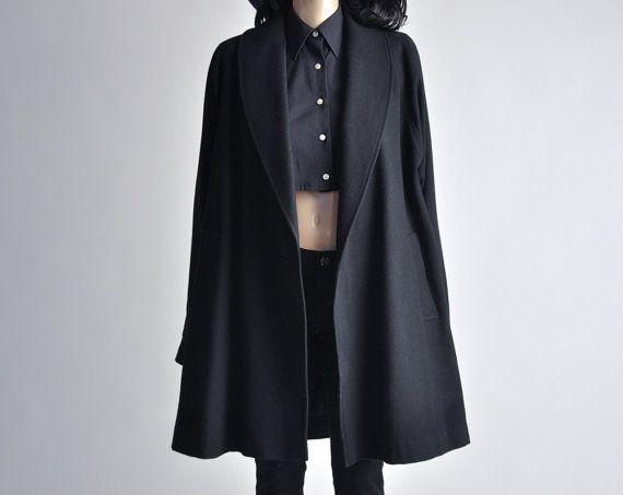 Minimalist Wool Coat