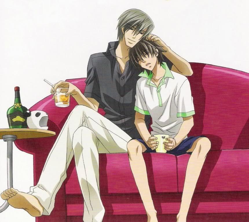 Misaki And Usagi Wallpaper Usagi-san and Misaki |...