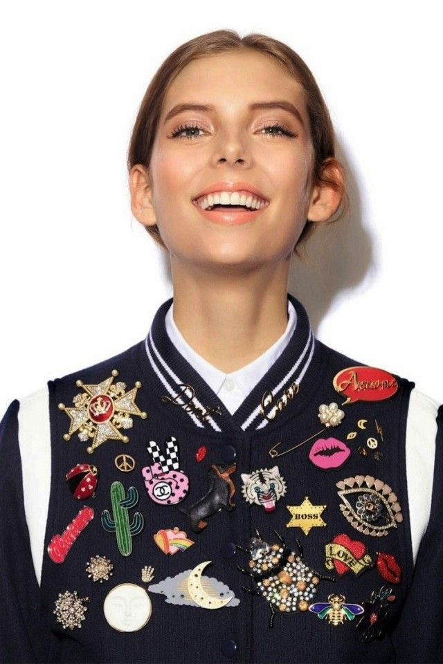 Embellish Your Outfit With This Season's Coolest Pins | WhoWhatWear