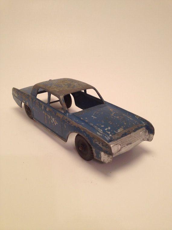 Vintage Hubley Toy  Lincoln Continental by HistoryAttics on Etsy, $14.00