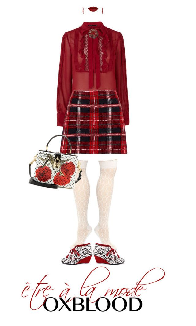 Etre à la Mode Oxblood | Polyvore | Oxblood, La mode, Karen
