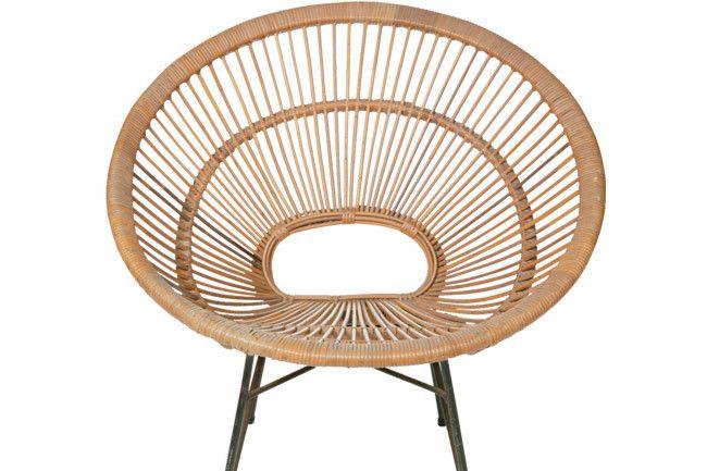 1950s Cane Chair From Ken Neale Twentieth Century Modern
