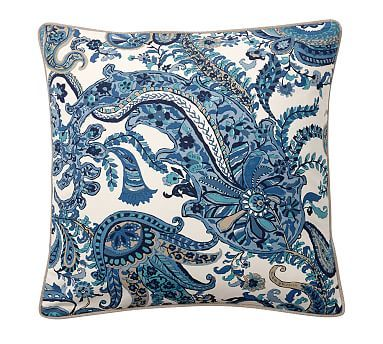 felicity print pillow cover potterybarn couch throw
