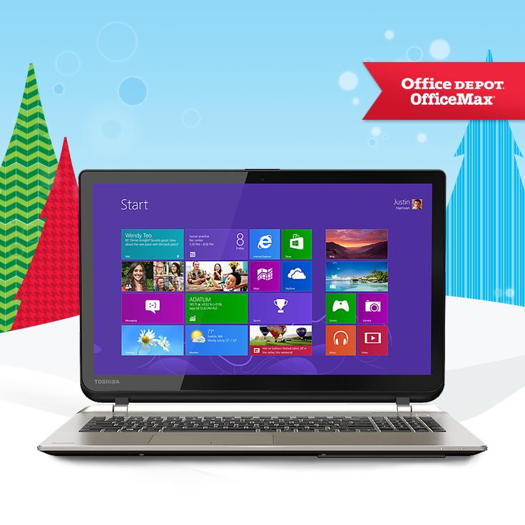 Make them smile this holiday season with this Toshiba