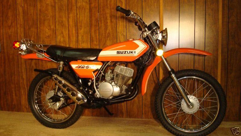 Pin By Stew Smith On Bikes I Ve Owned Suzuki Cafe Racer Suzuki Ts125 Enduro Motorcycle