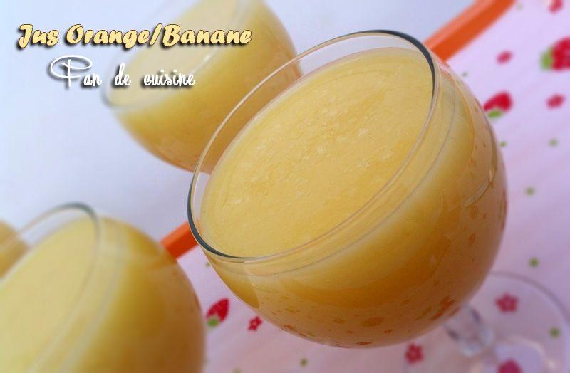 Jus d'Oranges/Bananes عصير البرتقال و الموز